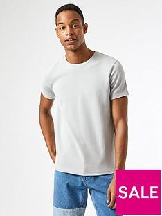 burton-menswear-london-waffle-texture-t-shirt-grey