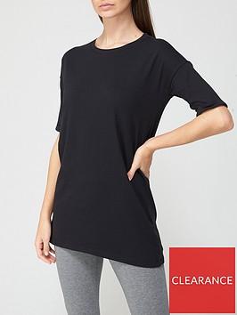 v-by-very-short-sleeve-tunic-black
