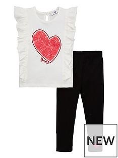 v-by-very-girls-ruffle-heart-tee-and-legging-set-multi