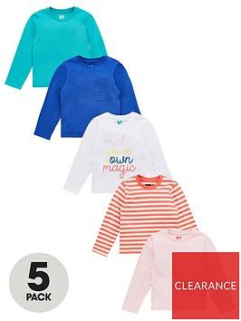 v-by-very-girls-5-pack-long-sleeve-printed-magic-tops-multi