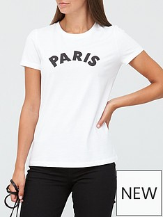 v-by-very-the-front-print-slogan-tee-white