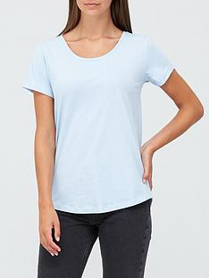 v-by-very-the-basic-scoop-neck-tee-light-blue