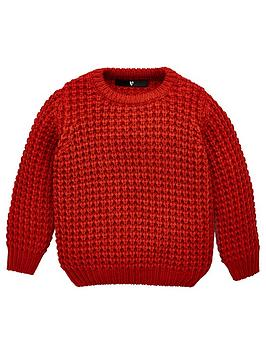 v-by-very-core-knit-jumper-rust