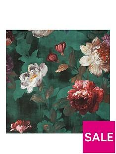 superfresco-easy-isabelle-green-floral-wallpaper