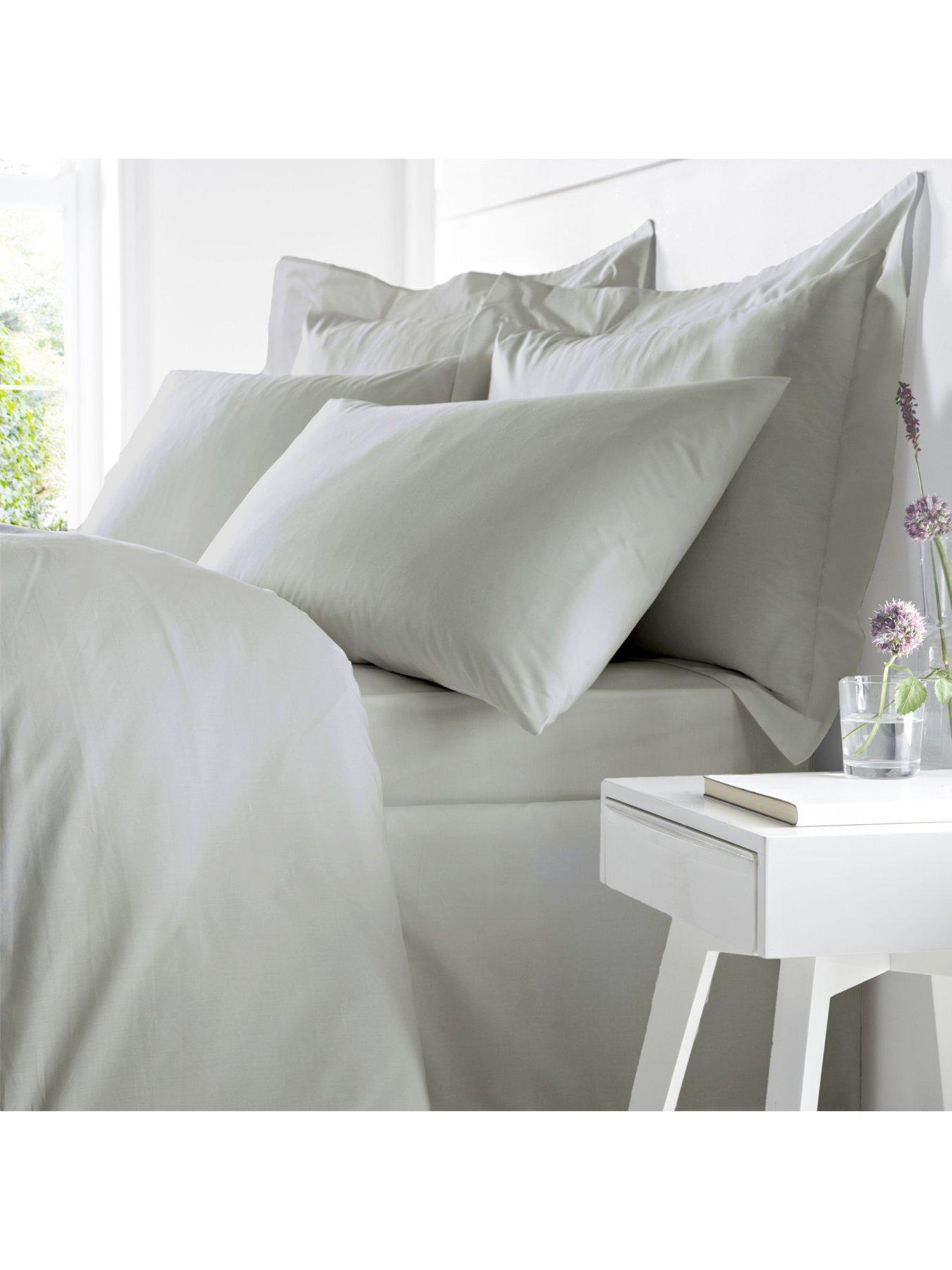 Duvet Cover Crushed Velvet Panel with Pillow Case Bedding NEW Set UK SELLER