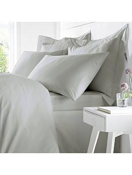Bianca Fine Linens Bianca Egyptian Cotton Single Oxford Pillowcase – Silver