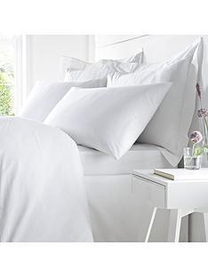 bianca-cottonsoft-bianca-100-egyptian-cotton-double-fitted-sheet-ndash-white