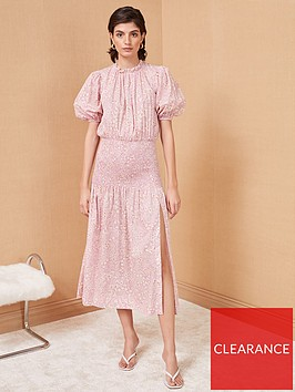 bec-bridge-emmanuelle-floral-print-cotton-midi-dress-pink