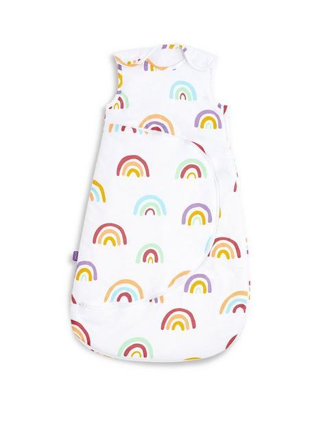 snuz-snuzpouch-sleeping-bag-1-tog-rainbow-0-6-months
