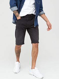 diesel-thoshort-denim-shorts-black