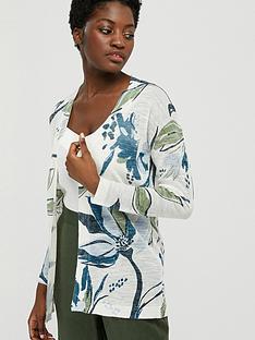 monsoon-tilda-print-linen-blend-cardigan