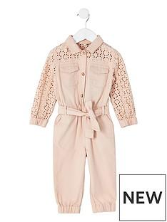 river-island-mini-mini-girls-broderie-belted-jumpsuit--pink