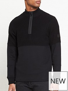 barbour-international-black-label-sensor-14-zip-sweatshirt-black