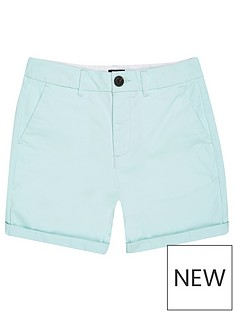 river-island-boys-chino-shorts-mint