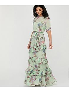 monsoon-aesha-tiered-print-maxi-dress-green