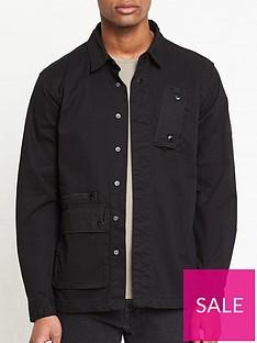 barbour-international-black-label-remote-overshirt-black
