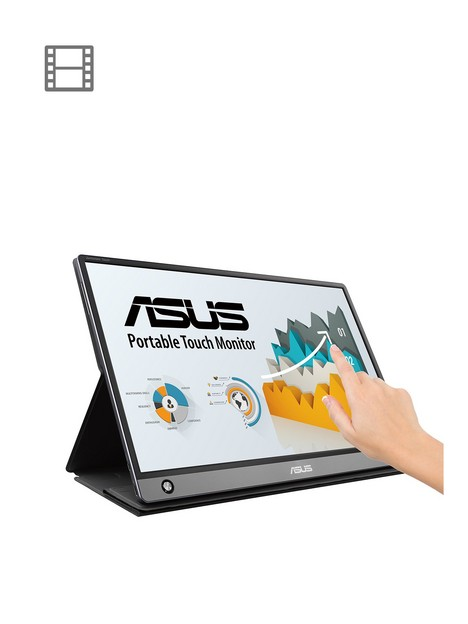asus-zenscreen-touch-mb16amt-156in-usb-type-c-portable-monitor-fhd-1920x1080-ips-up-to-4-hours-battery-micro-hdmi-compatible-with-usb-type-a