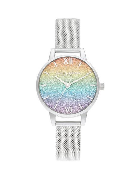 olivia-burton-rainbow-glitter-dial-amp-silver-mesh-bracelet-watch