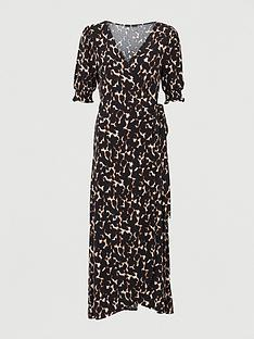 v-by-very-shirred-sleevenbspwrap-midaxi-dress-animal-print