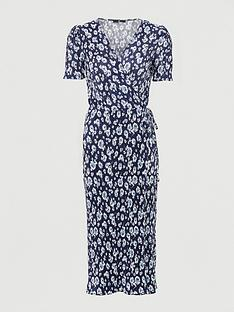 v-by-very-wrap-plisse-midi-dress-navy-floral