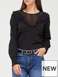 v-by-very-long-sleeve-lace-yoke-top-black