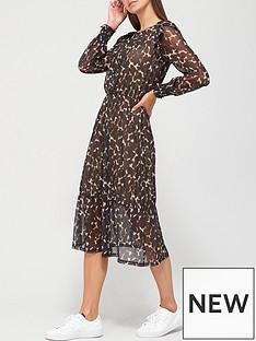 v-by-very-mesh-tiered-midi-dress-animal