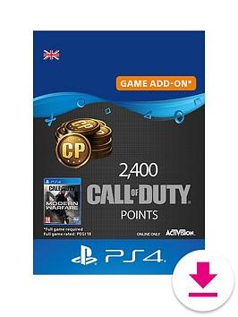 playstation-4-2400-call-of-duty-modern-warfare-points-digital-download