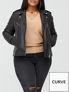 v-by-very-curve-ultimate-leather-biker-jacket-black