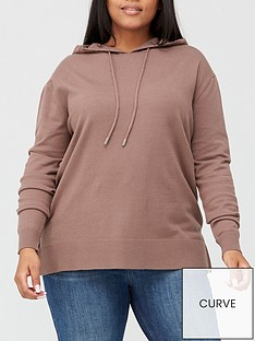 v-by-very-curve-knitted-hoodie-mink