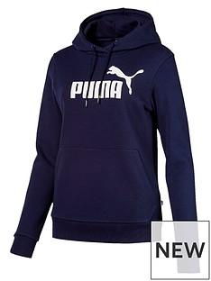 puma-essentialnbsplogo-fleecenbsphoodie-navynbsp
