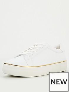 v-by-very-allerton-metal-trim-trainer-white