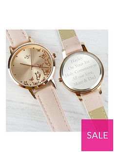 personalised-rose-gold-ladies-watch