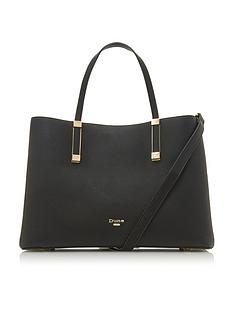 dune-london-dorrie-large-unlined-tote-bag-black