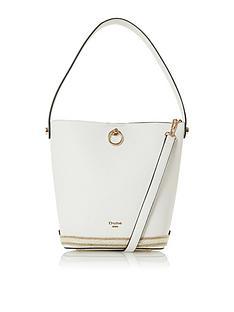 dune-london-danika-bucket-bag-white
