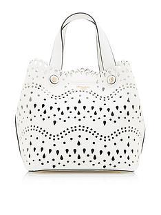 dune-london-daser-medium-laser-cut-tote-bag-white