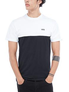 vans-colour-block-t-shirt-whiteblack