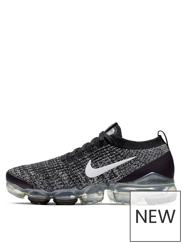 50% price the best attitude best cheap Nike Air Vapormax Flyknit 3 - Black/White | very.co.uk