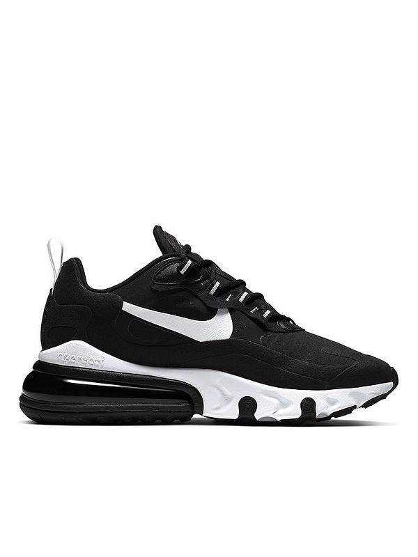 accattonaggio Riconoscimento sinistra  Nike Air Max 270 React - Black/White | very.co.uk