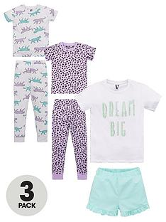 v-by-very-girls-3-pack-dream-big-pyjamas-multi