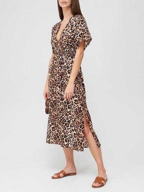 v-by-very-viscose-kimono-sleeve-dress-animal-print
