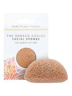 the-konjac-sponge-company-the-elements-air-facial-sponge-calming-chamomilepink-clay
