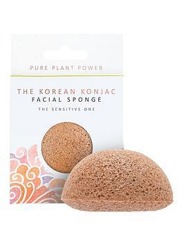 the-konjac-sponge-company-the-elements-air-facial-sponge-calming-chamomilepink-clay
