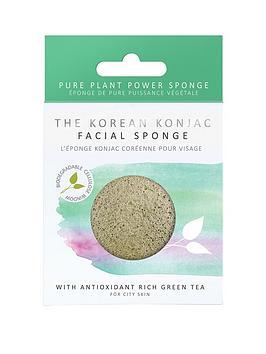the-konjac-sponge-company-premium-facial-puff-with-green-tea