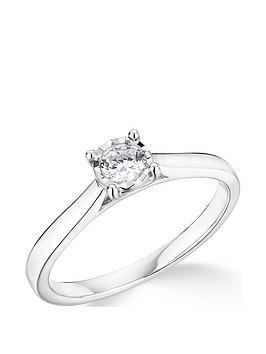 9k-white-gold-020ct-illusion-set-diamond-ring