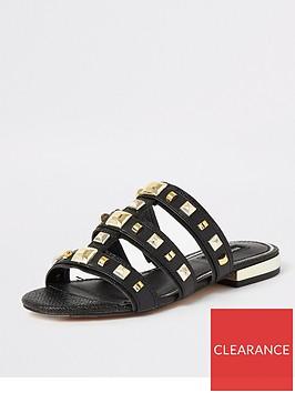 river-island-studded-mule-sandal-black