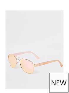 river-island-pink-mirror-lens-aviator-sunglasses-gold