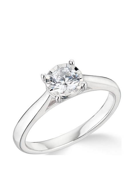 love-diamond-9k-white-gold-050ct-illusion-set-diamond-ring