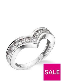 9k-white-gold-100ct-chevron-wedding-band-diamond-ring