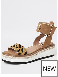river-island-river-island-two-part-flatform-sandal-tan