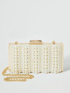 river-island-pearl-boxy-clutch-bag-cream